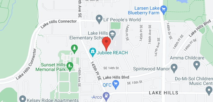 map of 14160 SE 8th St