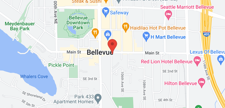 map of 130 105th Ave