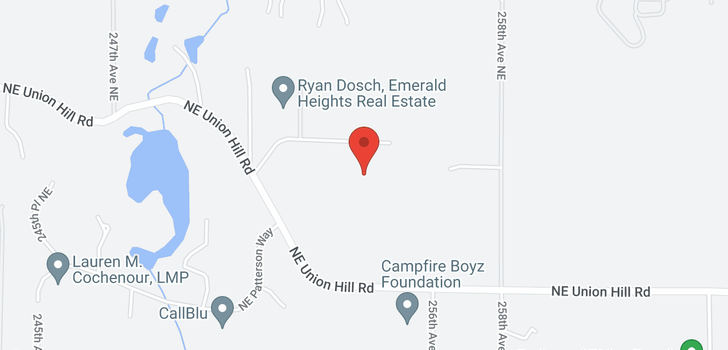 map of 5725 251st Ct