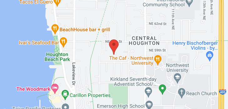 map of 6421 108th Ave