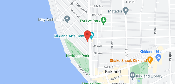 map of 119 6th Ave