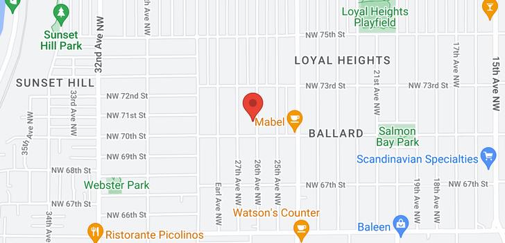 map of 6542 Jones Ave