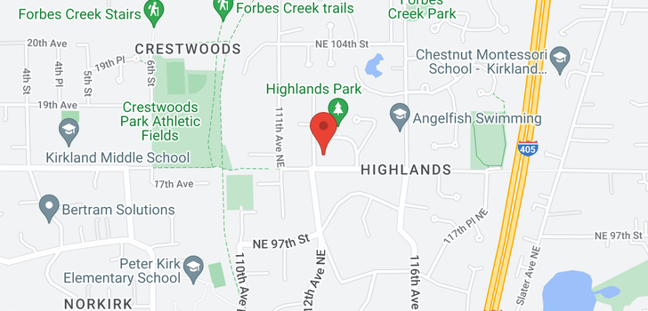 map of 9419 114th Ave