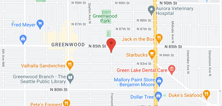 map of 947 N 90th St