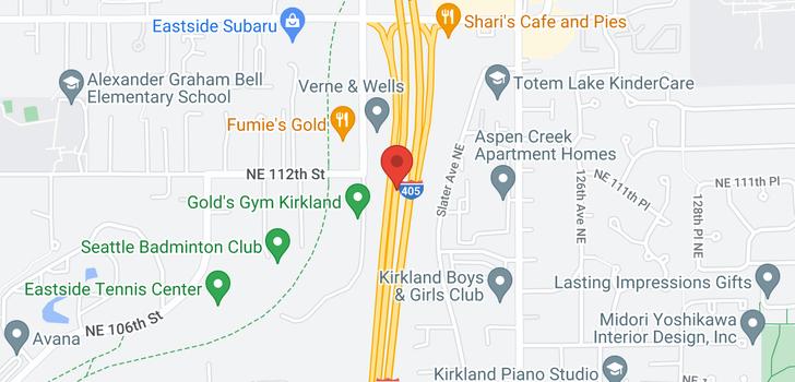 map of 11649 NE 112th St