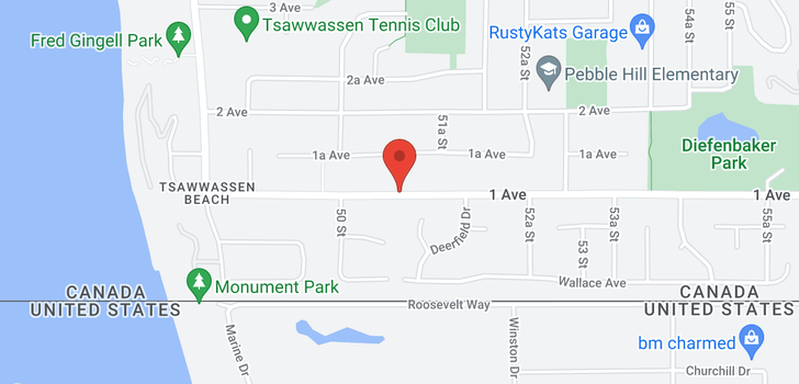 map of 5095 1 AVENUE