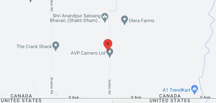 map of 269 DEFEHR ROAD
