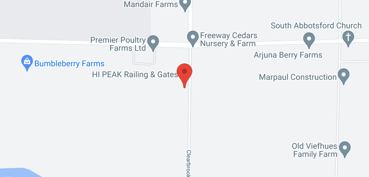 map of 703 CLEARBROOK ROAD
