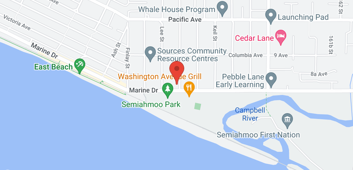 map of 206 15747 MARINE DRIVE