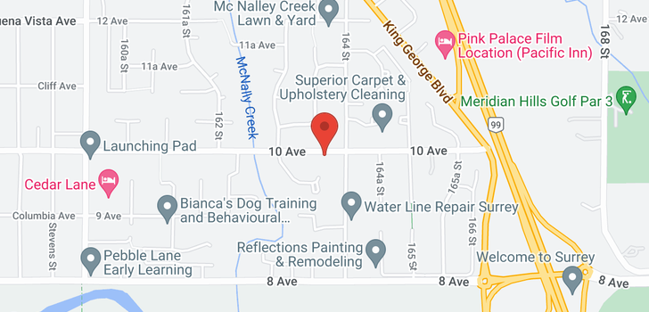 map of 16368 10 AVENUE