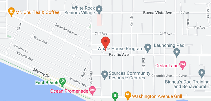 map of 15659 PACIFIC AVENUE
