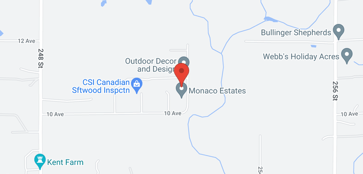 map of 1093 252 STREET