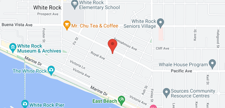 map of 15422 PACIFIC AVENUE