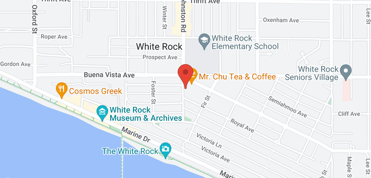 map of 406 15210 PACIFIC AVENUE