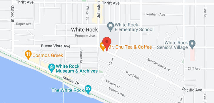 map of 107 15233 PACIFIC AVENUE