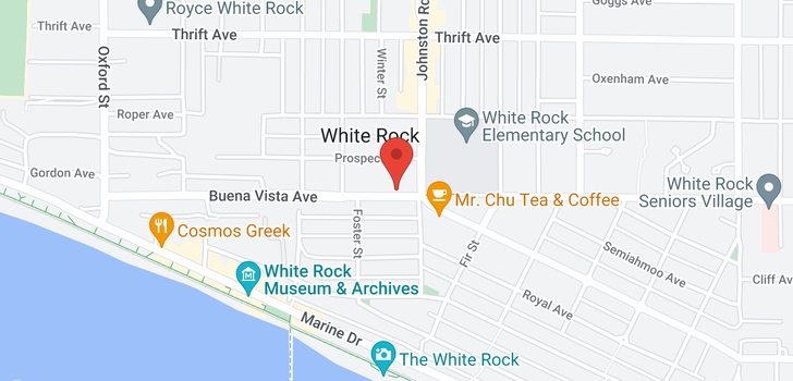 map of 102 15169 BUENA VISTA AVENUE