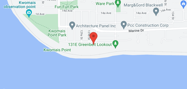 map of 12990 13 AVENUE