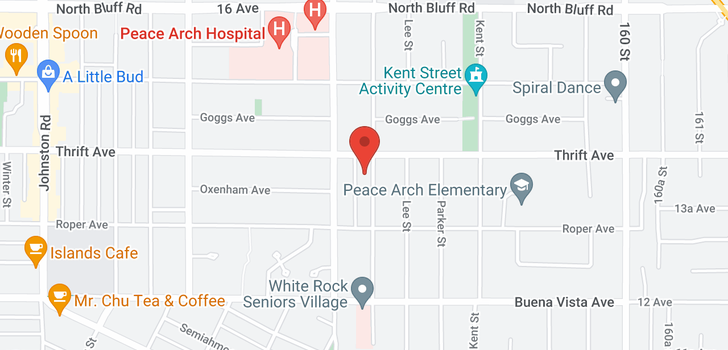map of 15632 THRIFT AVENUE