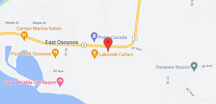 map of 4305 HWY 3
