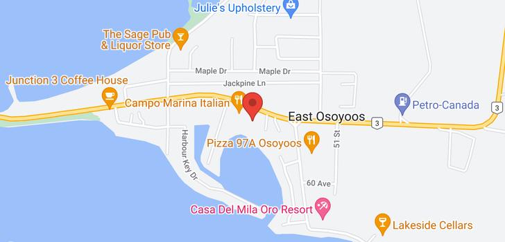 map of 69 - 5901 MAIN STREET