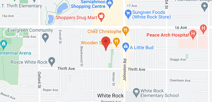 map of 502 1480 FOSTER STREET