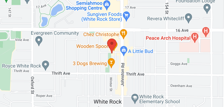 map of 204 15152 RUSSELL AVENUE