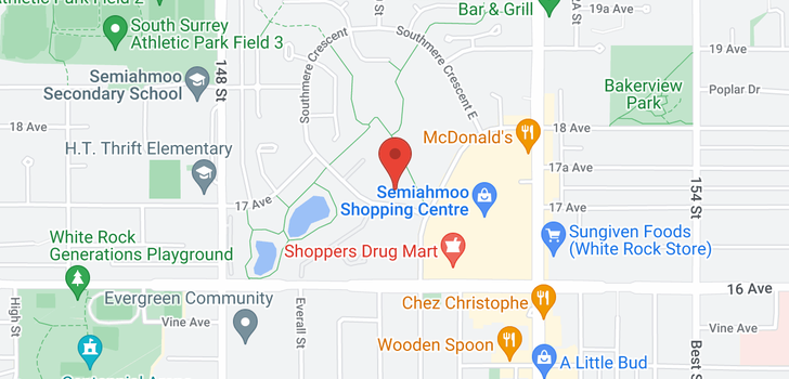 map of 203 1720 SOUTHMERE CRESCENT