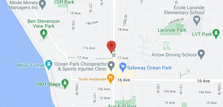 map of 201 1725 128 STREET