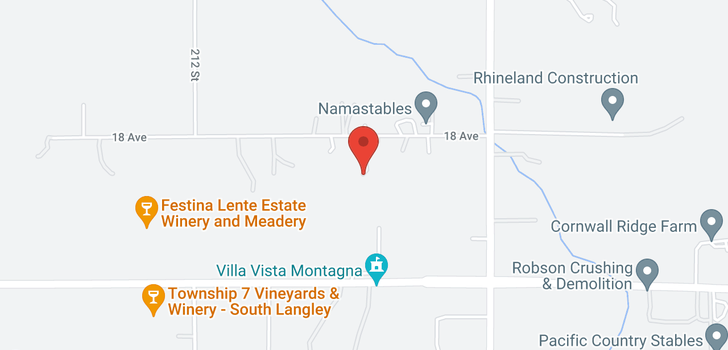 map of 21448 18TH AVENUE
