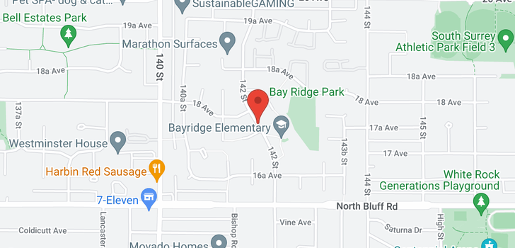 map of 1814 141A STREET
