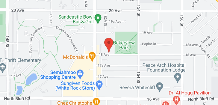 map of 304 15255 18 AVENUE