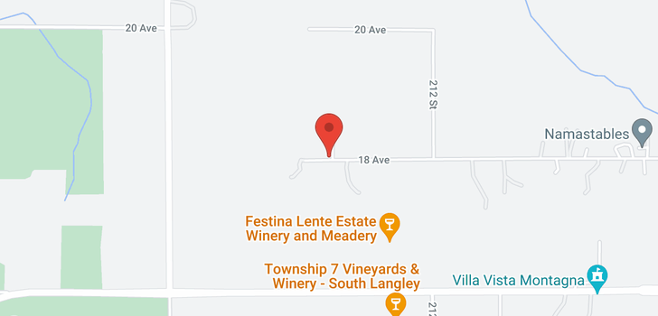 map of 21045 18 AVENUE