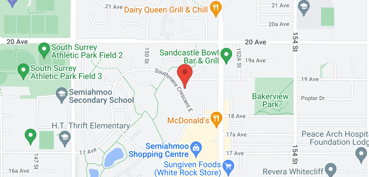 map of 311 1870 E SOUTHMERE CRESCENT