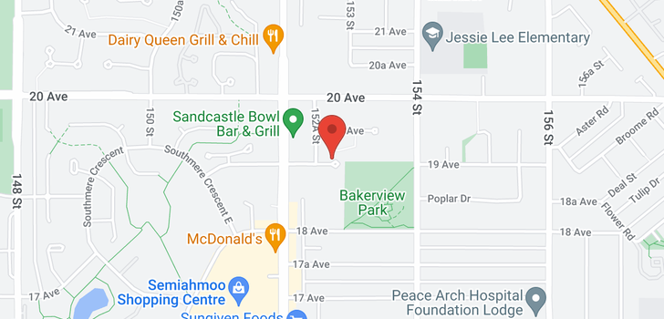 map of 116 15275 19 AVENUE