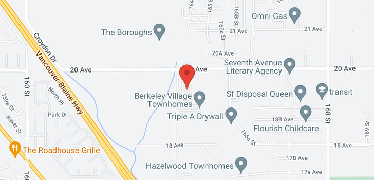 map of 112 16433 19TH AVENUE