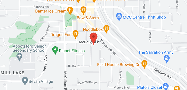 map of 33762 MCDOUGALL AVENUE