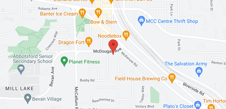 map of 33770 MCDOUGALL AVENUE