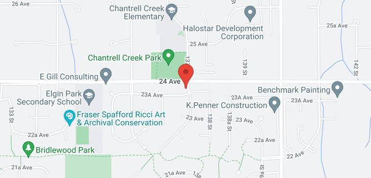 map of 2375 CHANTRELL PARK DRIVE