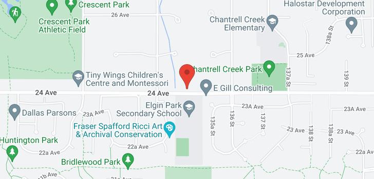 map of 13477 24 AVENUE