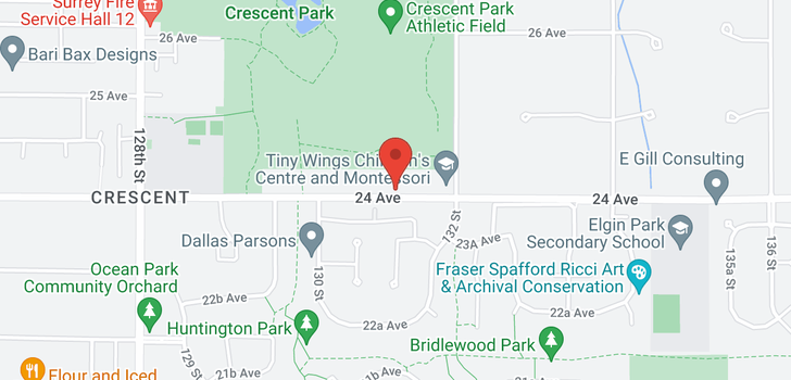map of 13125 24 AVENUE
