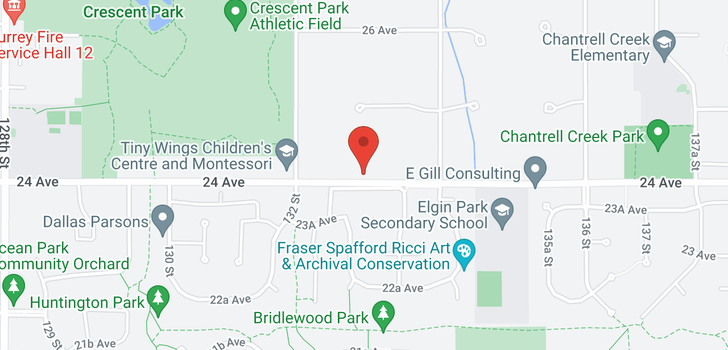 map of 13293 24 AVENUE