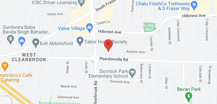 map of 202 2425 CHURCH STREET