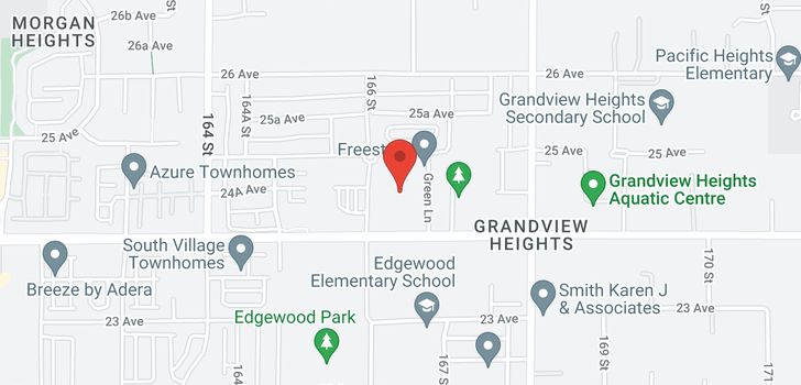map of 60 16678 25 AVENUE
