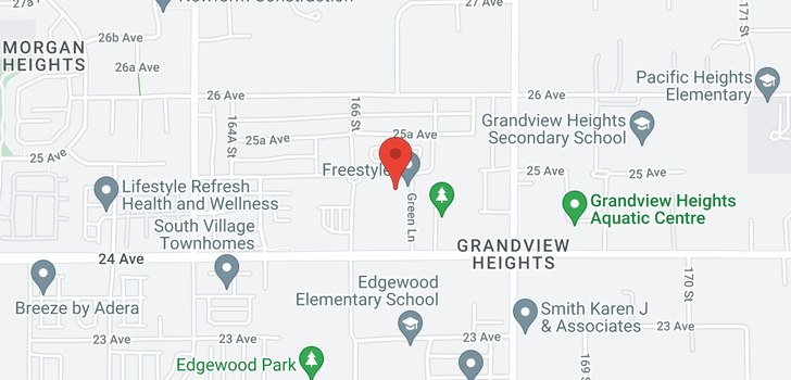 map of 30 16678 25 AVENUE