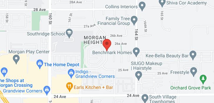 map of 59 2603 162 STREET