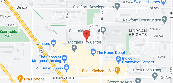 map of 5 15885 26 AVENUE