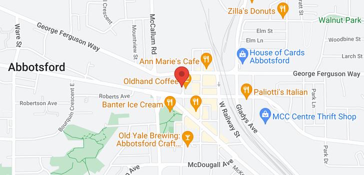 map of 406 2632 PAULINE STREET