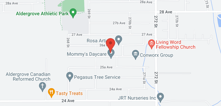 map of 26993 26 AVENUE