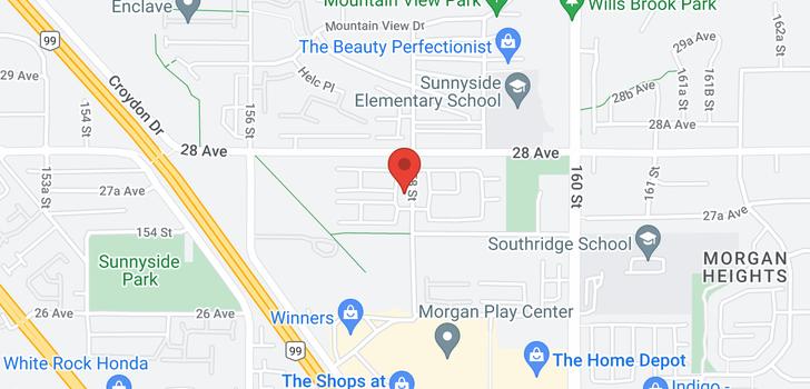 map of 94 2729 158 STREET