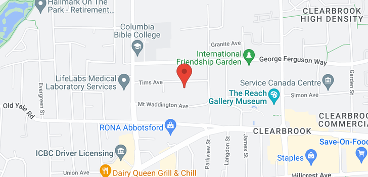 map of 108 32124 TIMS AVENUE